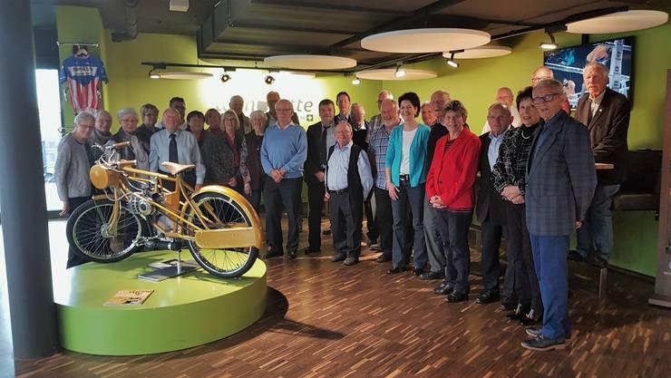 Ehemalige CVP Kantonsräte des Kantons Solothurn an der diesjährigen Herbstzusammenkunft.