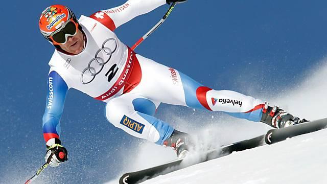 Didier Cuche war im Abschlusstraining erneut der beste Schweizer