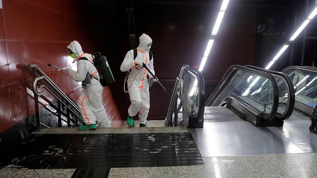 US-Forscher melden mehr als 300'000 Coronavirus-Fälle