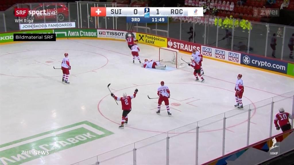 Matchzusammenfassung Hockey WM: Schweiz verliert mit 1:4 gegen Russland