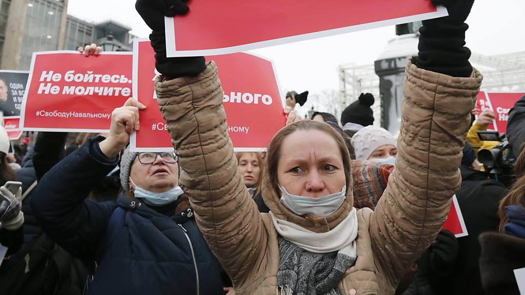 Neue Demos für Nawalny: Moskau will Metro-Stationen schliessen