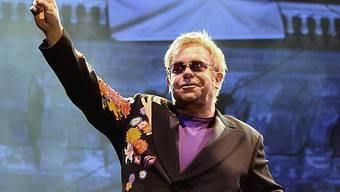 Elton John am 11. September in Neapel (Archiv)
