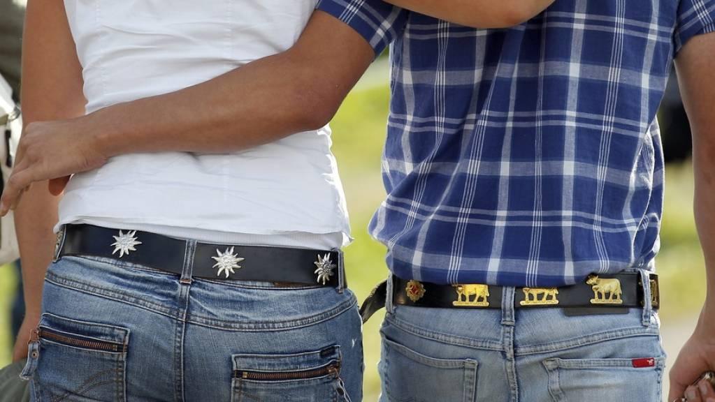 Schweizer Paare geben ihren Beziehungen im Schnitt 8,6 von 10 Punkten. Das bedeutet einen Spitzenplatz in Europa. (Symbolbild)