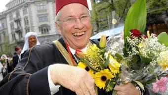 Christoph Blocher am Umzug der Zünfte 2010 (Archiv)
