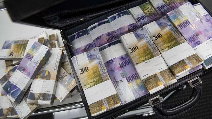 Der Ständerat beriet am Donnerstag über das Geldwäschereigesetz.