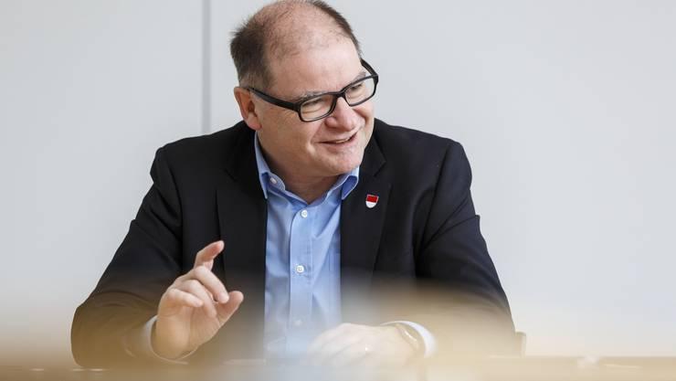 2017 war Urs Huber der höchste Solothurner. Der 56-Jährige sitzt seit 1997 ununterbrochen im Kantonsrat.