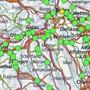 Die interaktive Karte zeigt die Standorte der 5G-Antennen.