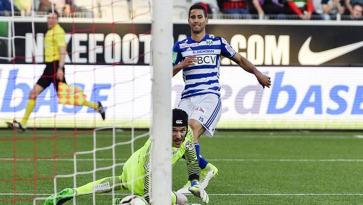 Mann des Spiels war der Lausanner Nassim Ben Khalifa. Er schoss drei Tore.