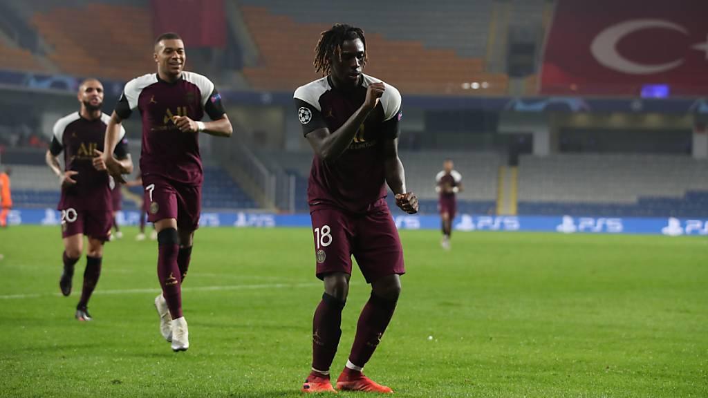 Moise Kean tanzt mit PSG in der Türkei zum Sieg