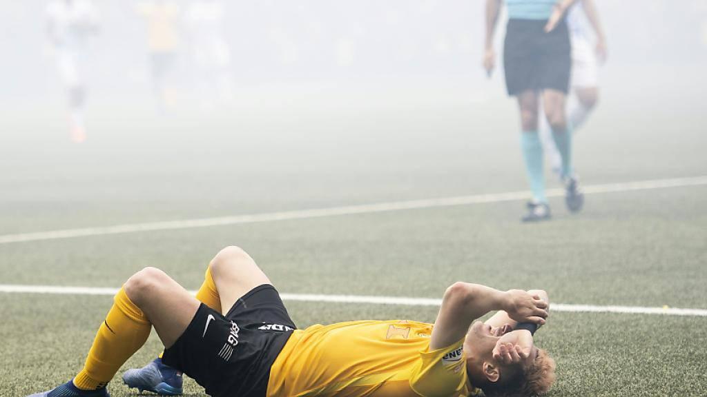 Miralem Sulejmani hat sich im Spiel gegen Thun den linken Fuss gebrochen