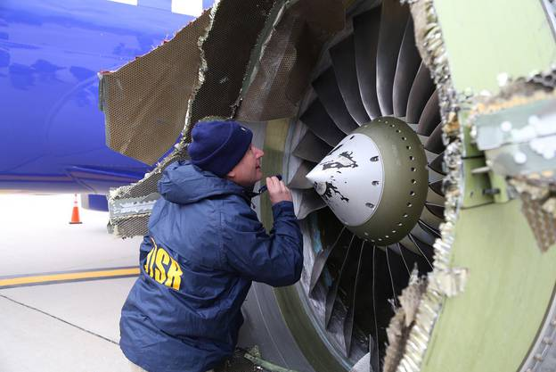 Der Flieger war unterwegs von New York nach Dallas und musste in Philadelphia notlanden.