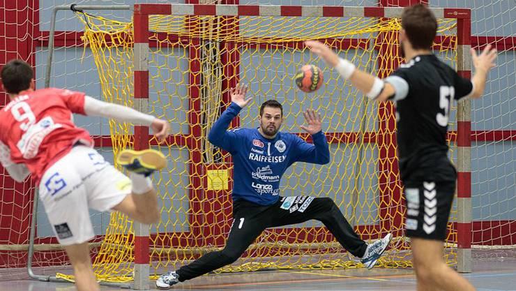 Torhüter Rok Jelovcan zeigte eine gute Partie.
