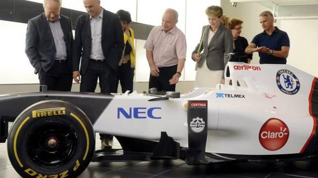 Bundesrat auf Reisen: Besuch bei Sauber Motorsport AG (Archiv)