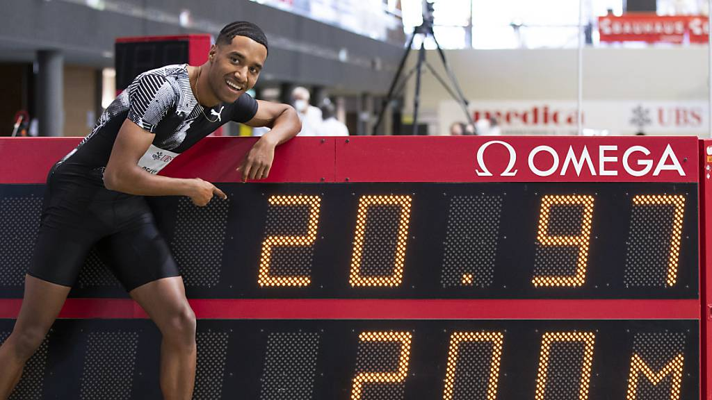 William Reais läuft die 200 in der Halle in 20,97 Sekunden