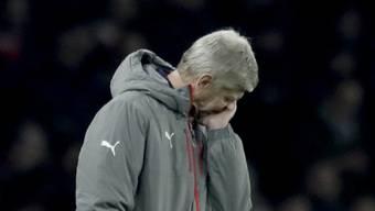 Arsenals Trainer Arsène Wenger hatte keine Freude am Spiel gegen Southampton