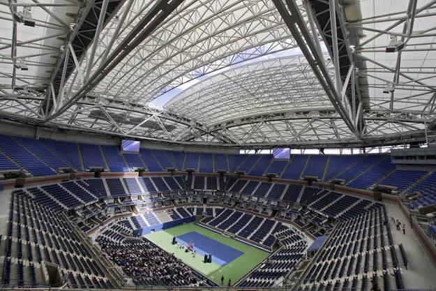 Die US Open 2020 Ende August finden ohne Zuschauer statt.