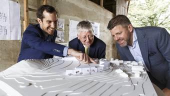Baustart für die Überbauung im Schöngrün