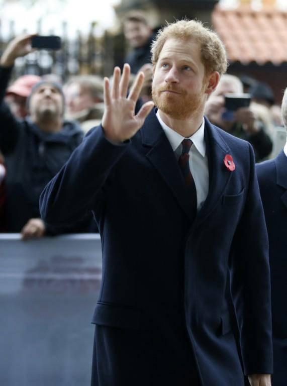 Aktuelle Bilder von Prinz Harry (© Keystone)