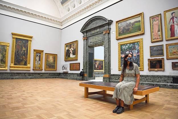 Die meisten Galerien und Museen sind wieder offen.