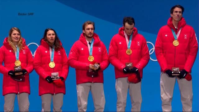 Medaillensegen an Olympia