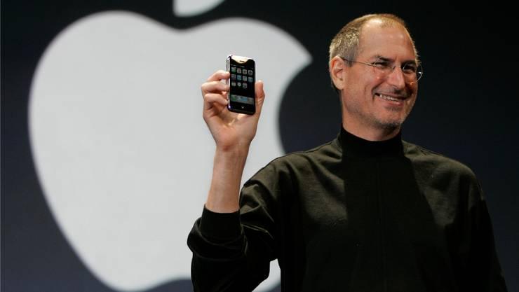 «Heute werden wir zusammen Geschichte schreiben», sagte Steve Jobs, als er am 9. Januar 2007 das iPhone präsentierte.