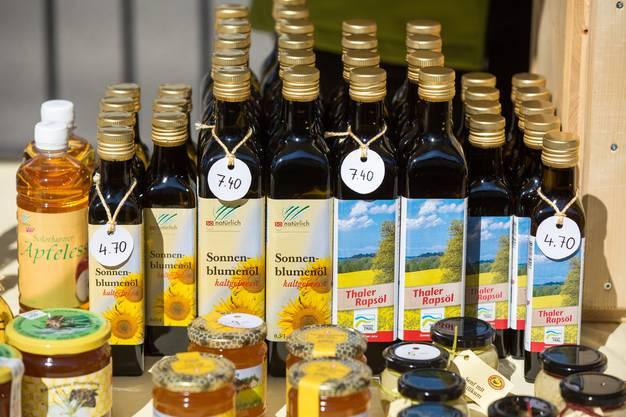 Thaler Produkte beim Naturpark Märet in Balsthal