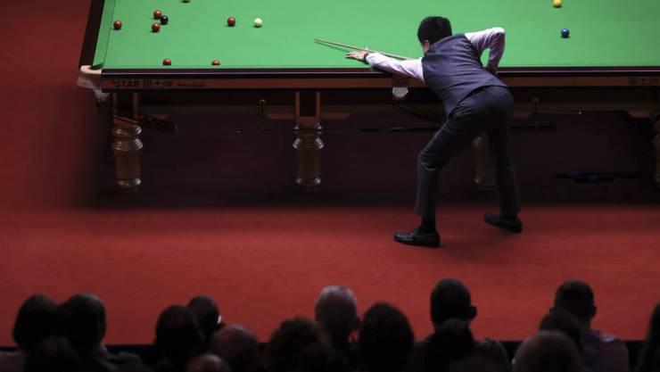 Am Freitag beginnt im Crucible Theatre im englischen Sheffield die Snooker-WM