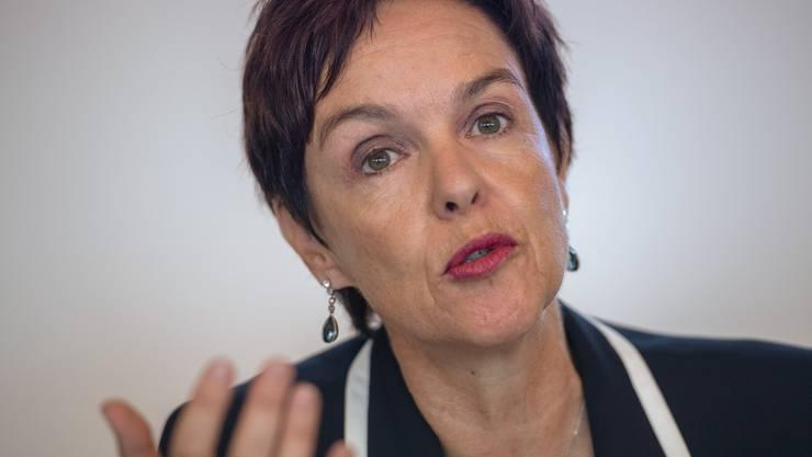 «Münchenstein wird Unistandort. Lassen Sie sich das auf der Zunge zergehen» Monica Gschwind  Baselbieter Bildungsdirektorin