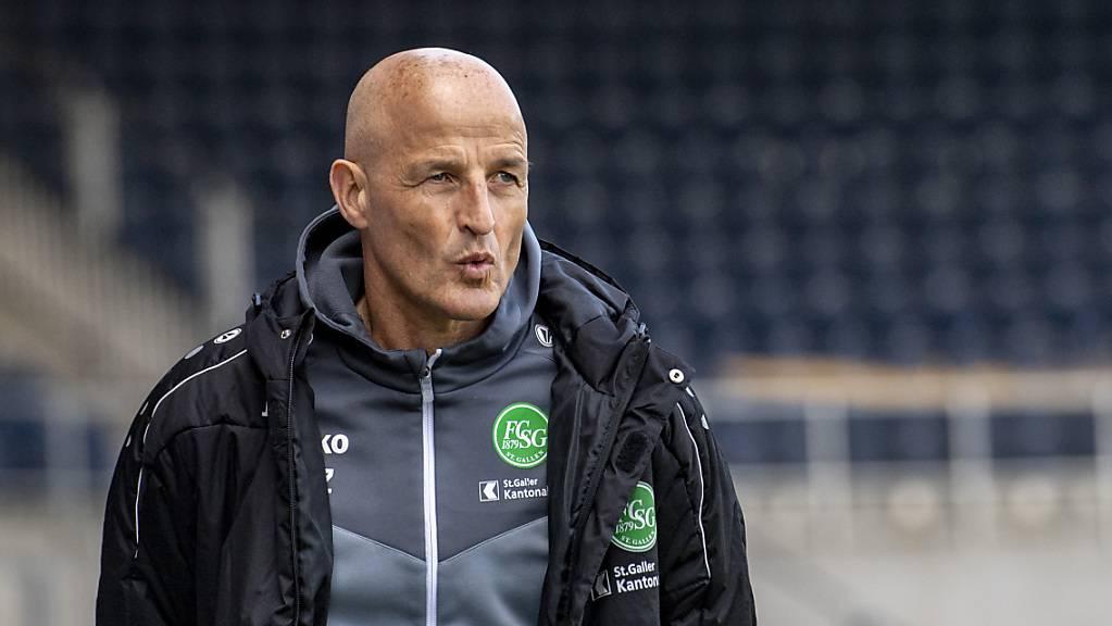Peter Zeidler und seine Spieler schwanken zwischen Erfolg im Cup und Schwierigkeiten in der Meisterschaft.