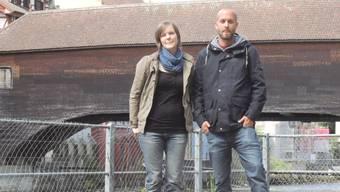Die «Triebgut»-Wirte Michelle Huber und Michael Rohrbach hoffen, im Juni eröffnen zu können.