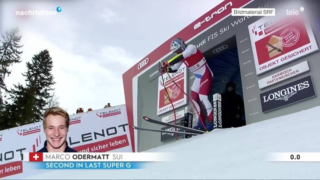 Skiweltcup Super-G Männer Garmisch-Partenkirchen