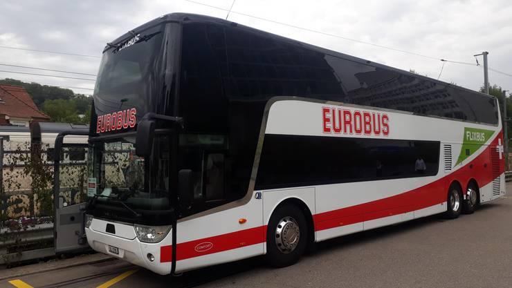 Keine Fernbusreisen in der Schweiz.