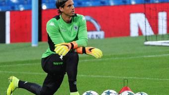 Gefragte Fussballer spielen immer mal wieder auf einem anderen Rasen. Yann Sommer ist bis 2019 bei Borussia Mönchengladbach unter Vertrag (Archiv)