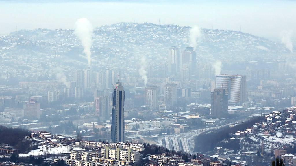 Luftverschmutzung grösste Bedrohung für die Gesundheit