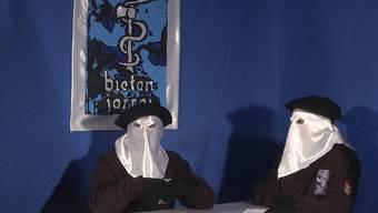 Solche Bilder sollen bald der Vergangenheit angehören: Die baskische ETA beendet ihren bewaffneten Kampf (Archiv)