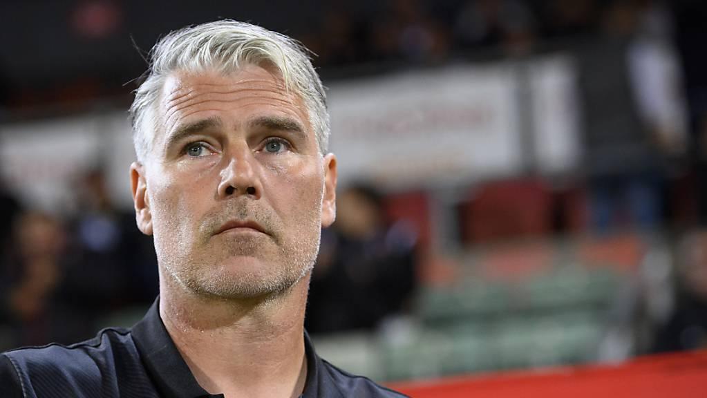 Marco Walker muss eine persönliche Niederlage einstecken: Er ist als Trainer des FC Sion entlassen.