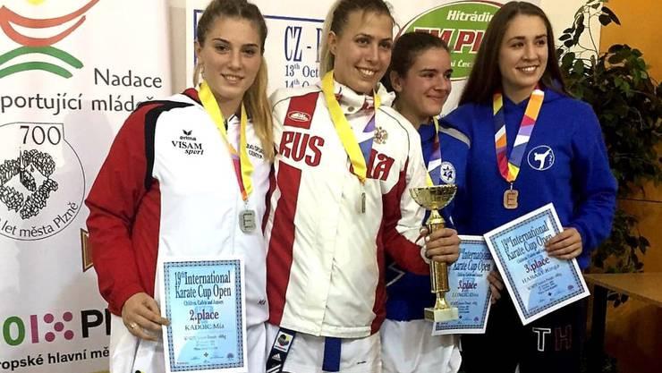 Mia Kadoic, 2. Platz in Kumite Damen / Elite +68kg