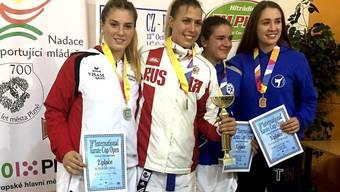 Karatesportler/in vom Budo Sport Center Liestal am Int. Karate Turnier in Pilsen-Tschechien erfolgreich