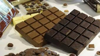 Produkte des Schokoladenproduzenten Barry Callebaut