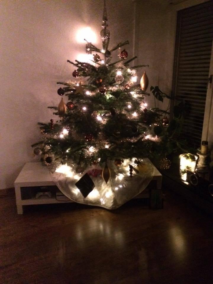 Der Christbaum von Andrea