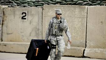 Einsatz für 2,1 Billionen Dollar: US-Soldat zieht 2011 aus dem Irak ab (Archiv)