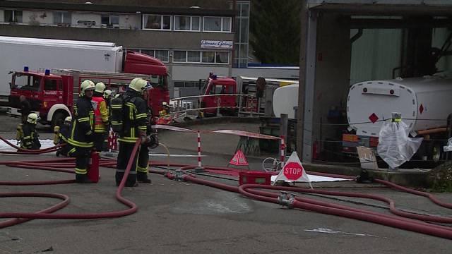 Ölunfall in Rudolfstetten