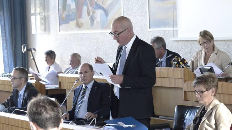 Der Landrat kommt zu keinem Entscheid über den GPK-Bericht zur Strafprozessordnung. (Archiv)