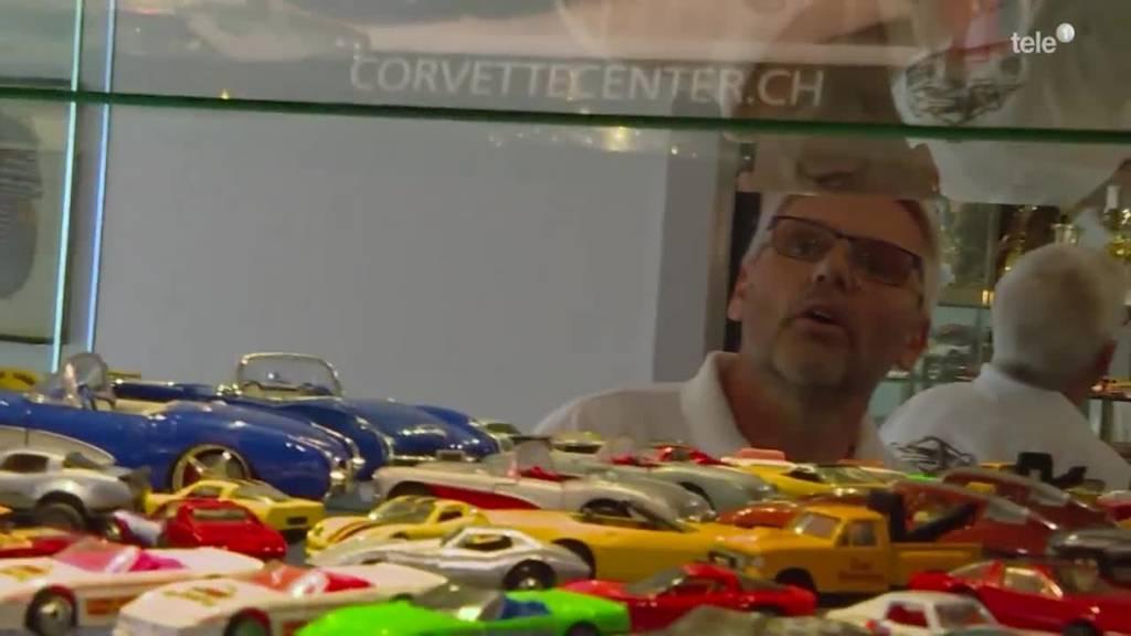 """Corvette-Fan Frank zeigt """"sis Dihei"""""""
