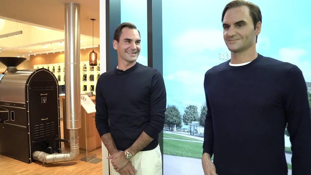 Roger Federer und sein «Zwilling»