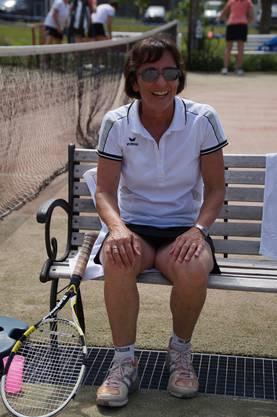 Ruth Binder war im Einzel wie im Doppel erfolgreich.