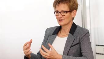 Regierungsrätin Sabine Pegoraro.