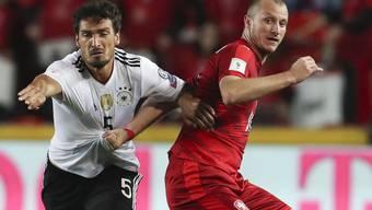 Defensiv stark und offensiv gefährlich: Deutschlands Mats Hummels