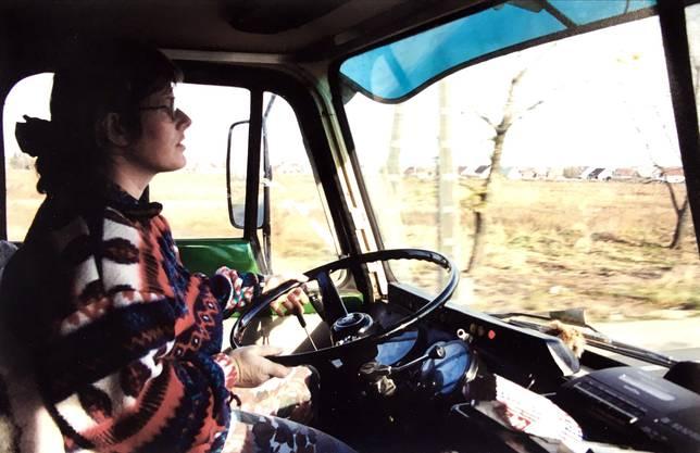 Ohne GPS und ohne Handy: Jrène Liggenstorfer unterwegs nach Rumänien.