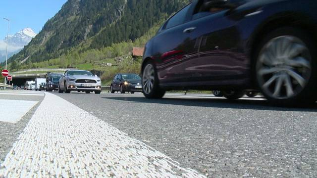 Osterstau am Gotthard schlägt alle Rekorde